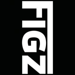 Figz XL Logo švitrinis popierius