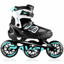 Riedučiai Advance BIG WHEELS Black/Mint 110mm