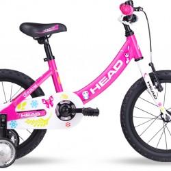 Vaikiškas dviratis Head Pink