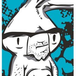 Triukinė riedlentė Bunny