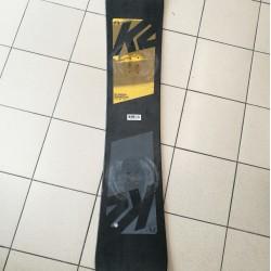 Snieglentė K2 165cm dėvėta