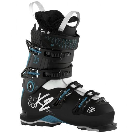 Kalnų slidžių batai K2 BFC Walk 90 W Black / Turquoise