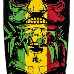 Longboardas Tapco Red/Green/Yellow