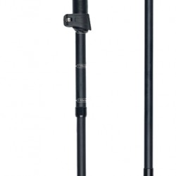 Kalnų slidinėjimo lazdos GABEL EF Black/White 110-130cm