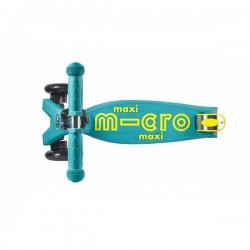 "Maxi Micro Deluxe ""Petrol green"" paspirtukas"