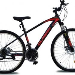 Olpran TX-900 dviratis juodas/raudonas