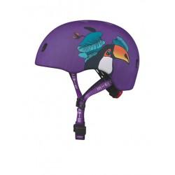 Micro šalmas Toucan Violetinis